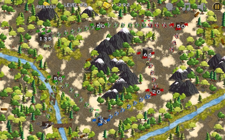android Castles in War Screenshot 8