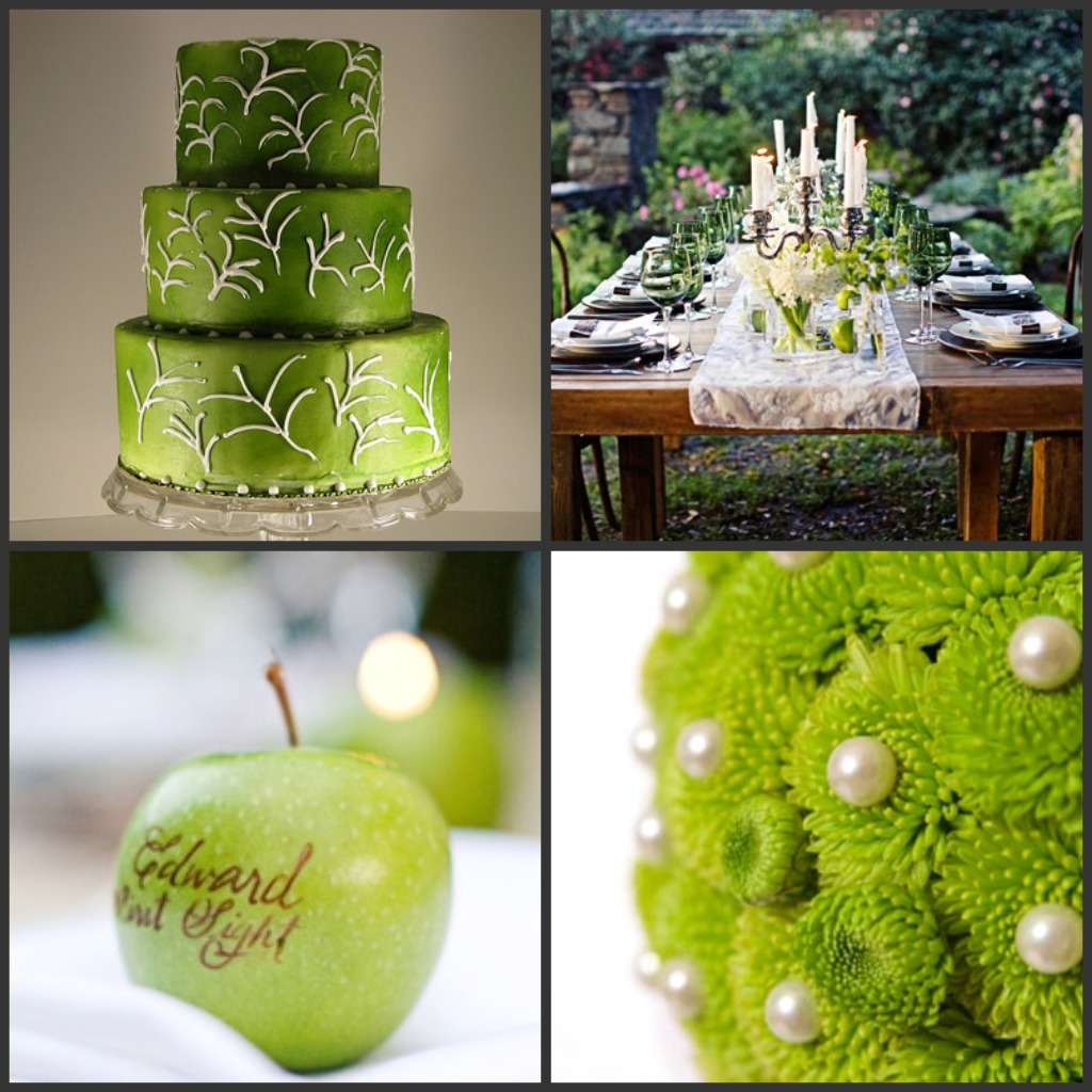 Green Wedding Cake: Spoonful