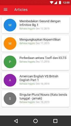 Belajar Bahasa screenshot 5