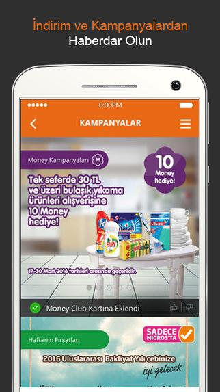 Migros Turkey Screenshot
