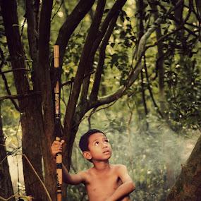 memburu by Iba  Kakipuqo - Babies & Children Children Candids