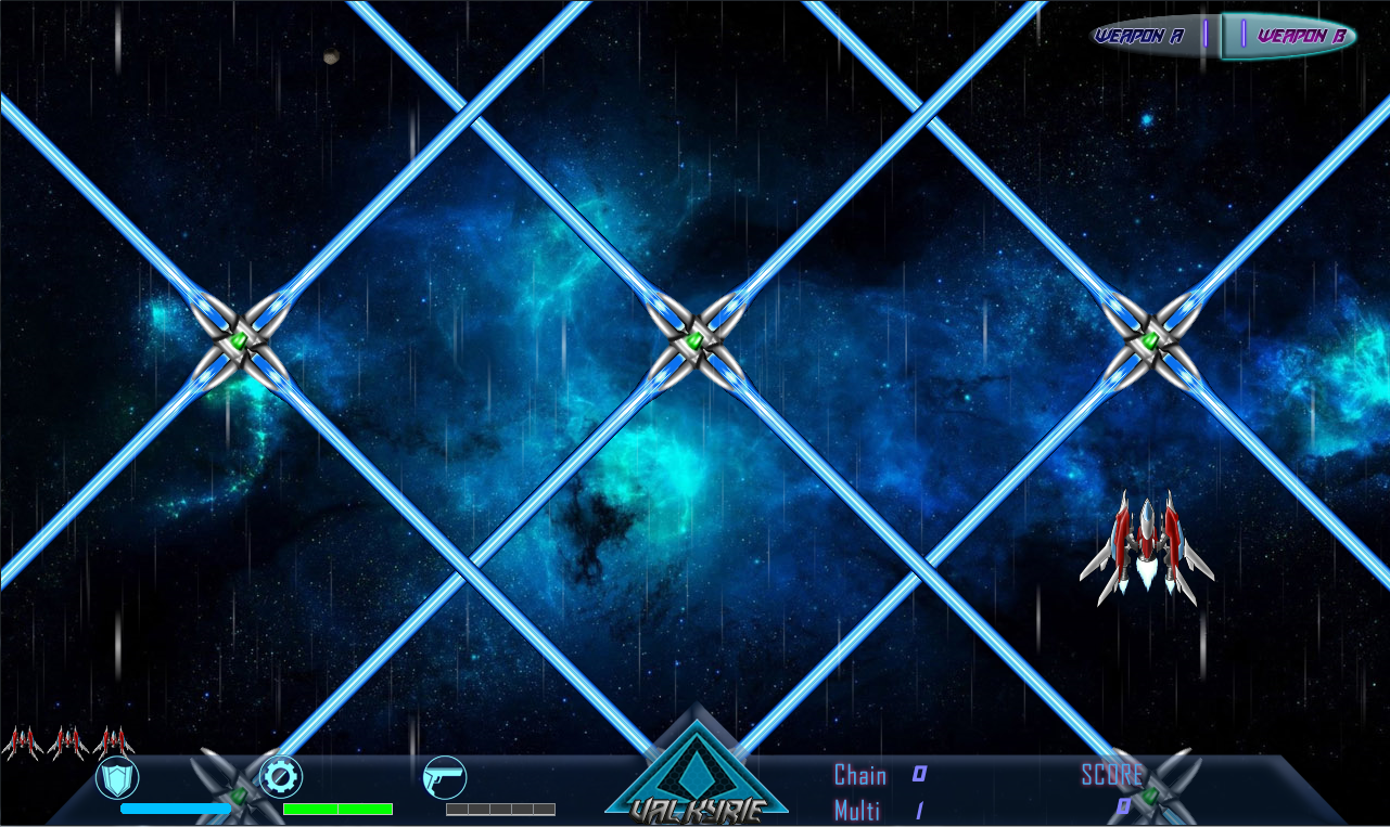 Beyond Black Space: Valkyrie Screenshot 2