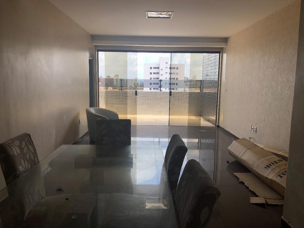 Cobertura com 3 dormitórios à venda, 196 m² por R$ 595.000 - Bessa - João Pessoa/PB
