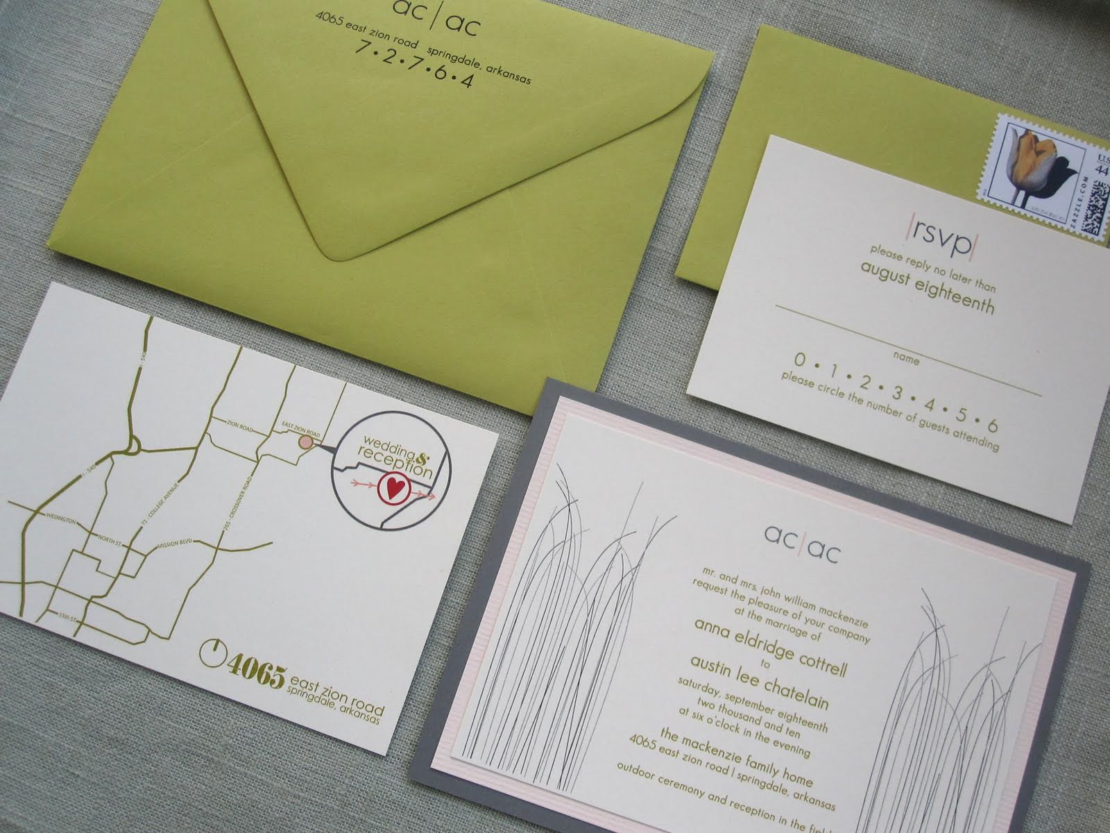 a wedding invitation like