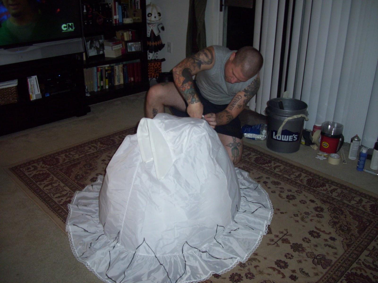 your wedding dress to make