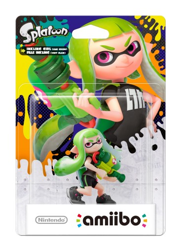 Inkling Girl - Green packaged (thumbnail) - Splatoon series