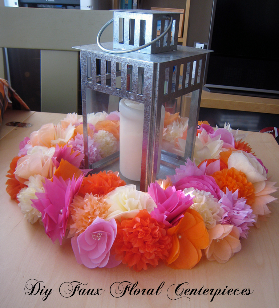 how to diy centerpieces with