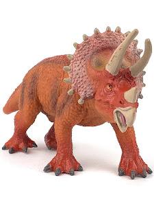 """Игрушка-фигурка серии """"Город Игр"""", динозавр трицератопс, biological"""