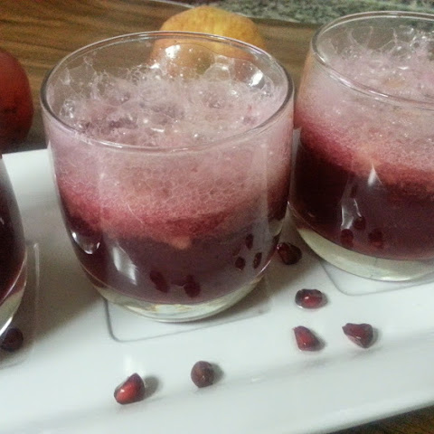 Non-Alcoholic Pomegranate and Apple Punch