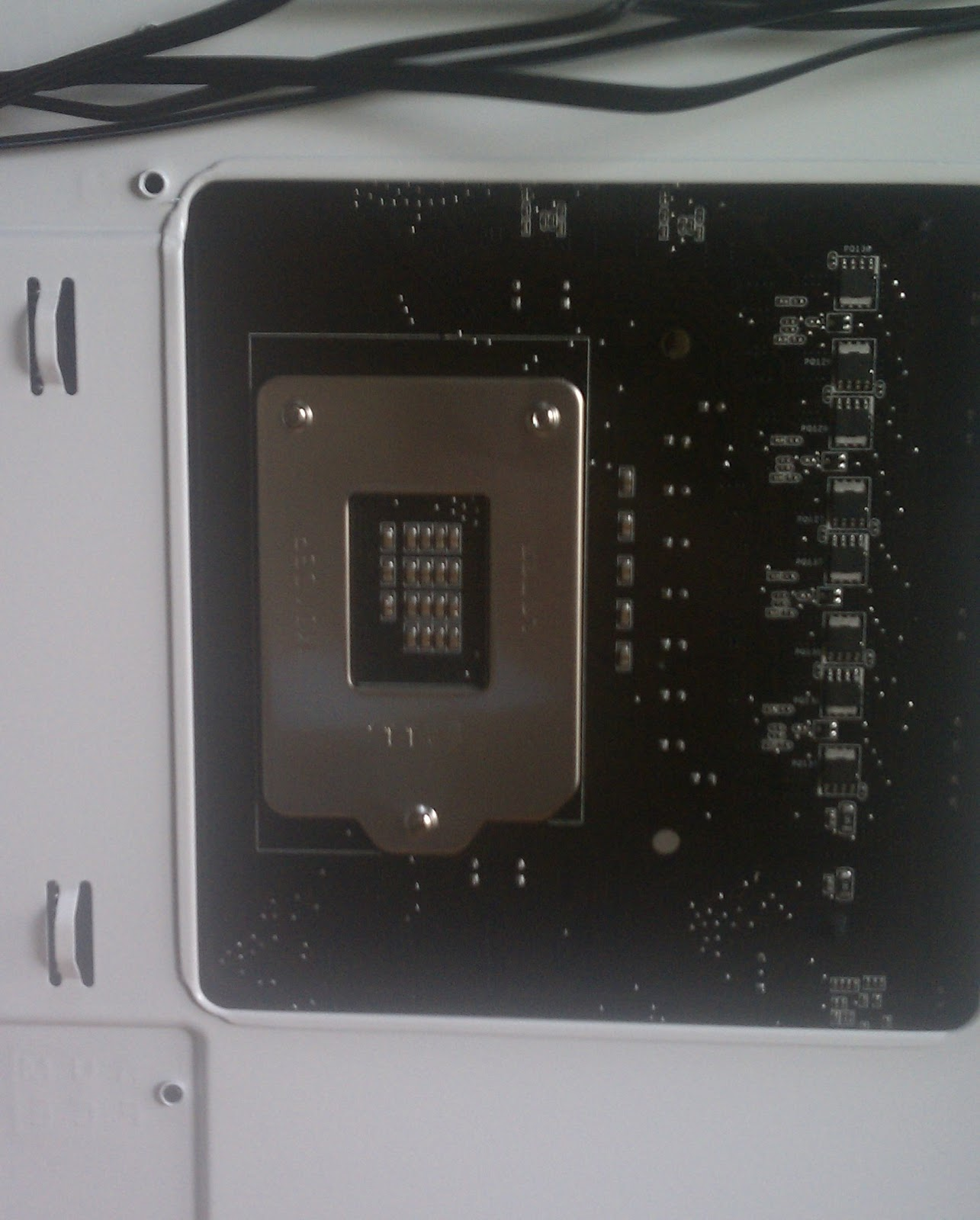 2) there is a cpu fan error