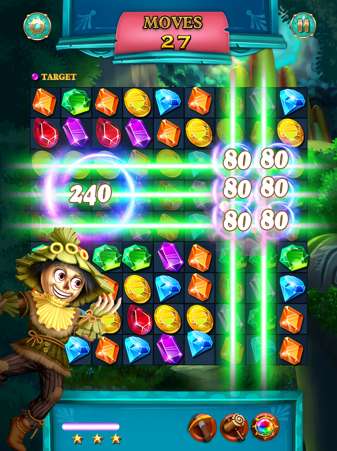 Jewels Star: OZ Abenteuer android spiele download