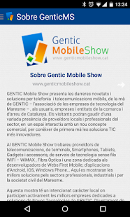 Gentic Mobile Show 2015 Screenshot