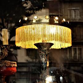 Light up my life... by Marton Rakhel - Abstract Light Painting ( reflection, lamp, evening, walk )