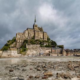 Mont saint michel by Danny Schurgers - Buildings & Architecture Public & Historical ( hdr, france, normandy )