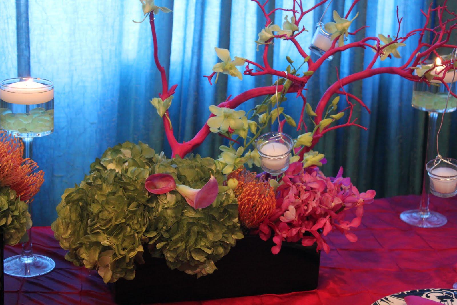 fairytale wedding centerpieces