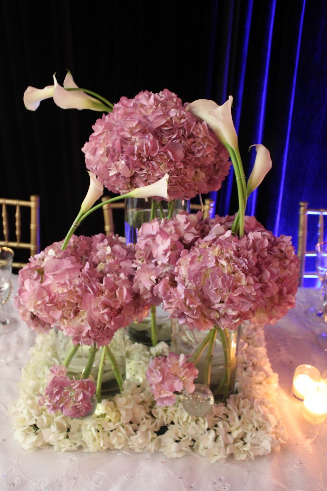 calla lily centerpieces