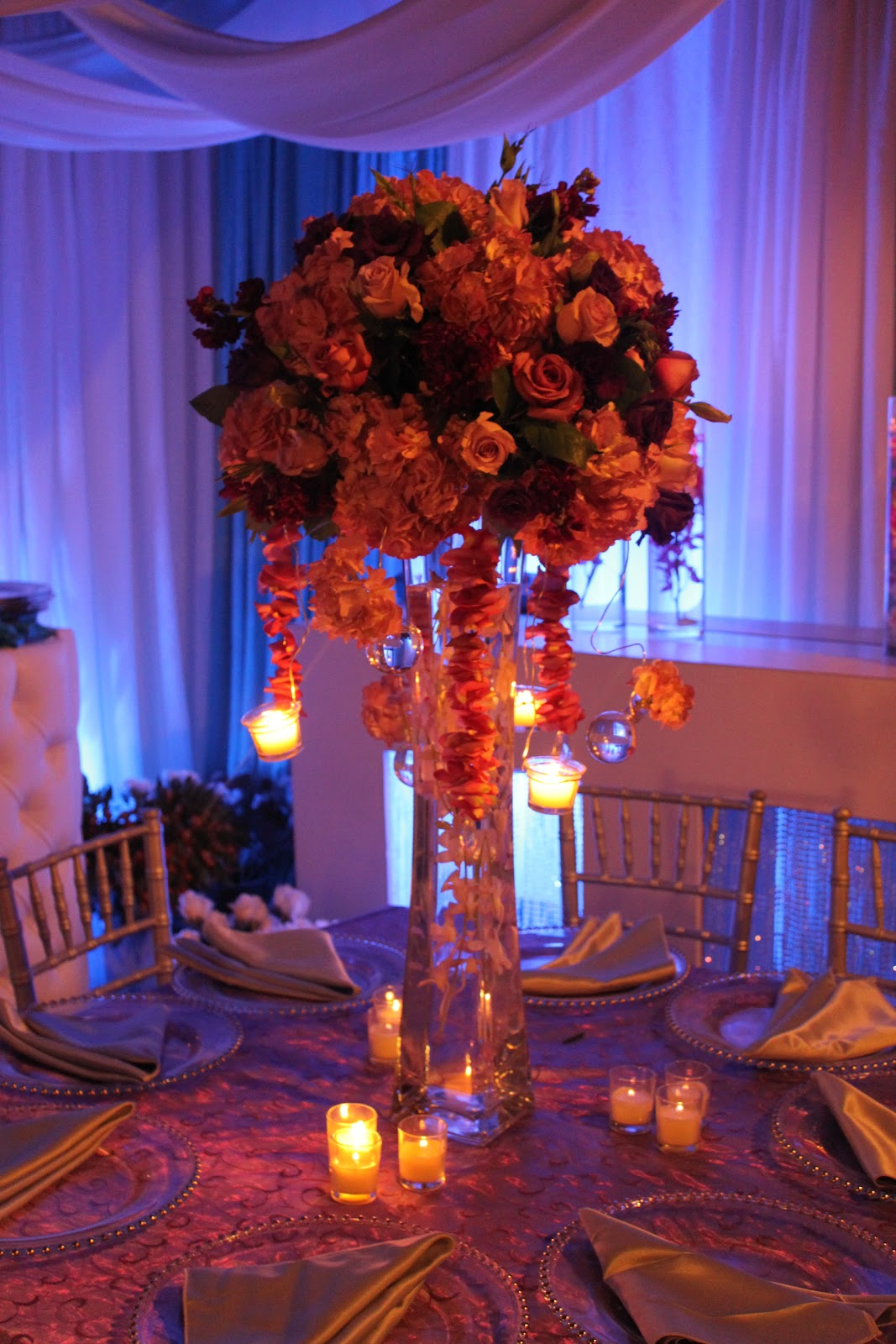 Last week amazing centerpieces