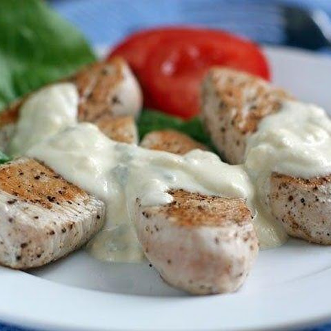 Turkey Fillet With Sauce Of Blue Cheese