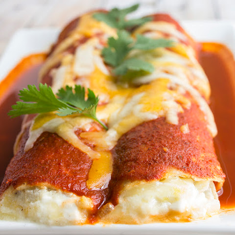 Skinny Cheese Enchiladas