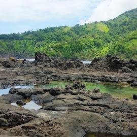 Owia Salt Pond by Melony Mejias - Landscapes Travel ( adventure, tourist, travel, pond, island )