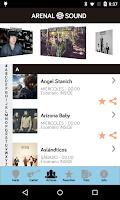 Screenshot of Arenal Sound