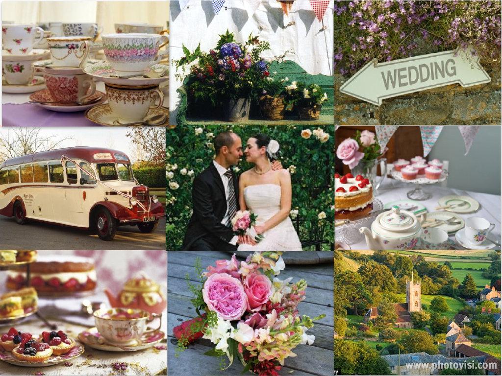 garden wedding cupcakes