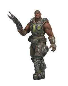 """Фигурка """"Gears of War 3: Series 2 Cole 7"""" /5шт"""