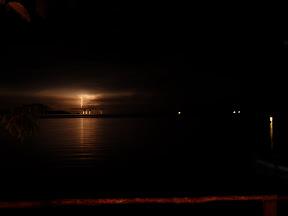 Orages dans la baie de Maumere