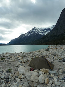 Bivouac à campamento Los Cuernos
