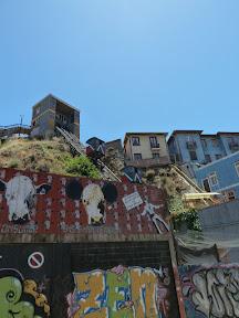 Un funiculaire de Valparaíso