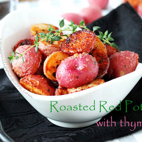 Roasted Red Potatoes with Thyme
