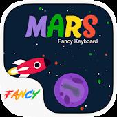 App Mars Fancy Keyboard Theme apk for kindle fire