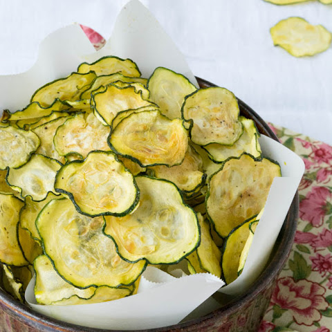 Salt and Vinegar Zucchini Chips