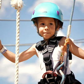 Ropes course by Kim Price - Babies & Children Children Candids ( colorado, three year old )