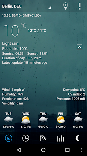 Sense Flip Clock & Weather Pro Screenshot