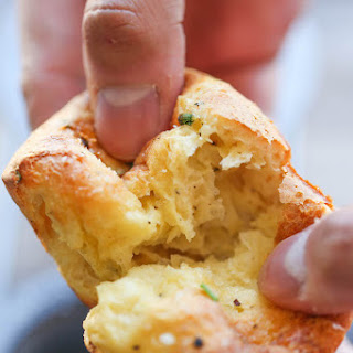 Easy Garlic Parmesan Popovers