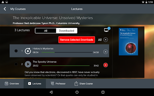 The Great Courses- screenshot thumbnail