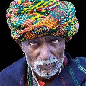 The look! by Bharathkumar Hegde - People Portraits of Men