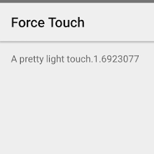 Force Touch Demo