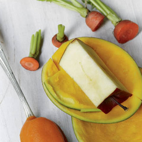 Carrot Mango Apple Baby Food Puree Recipe from Tyler Florence