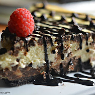 Secret Ingredient Chocolate Chip Cheesecake