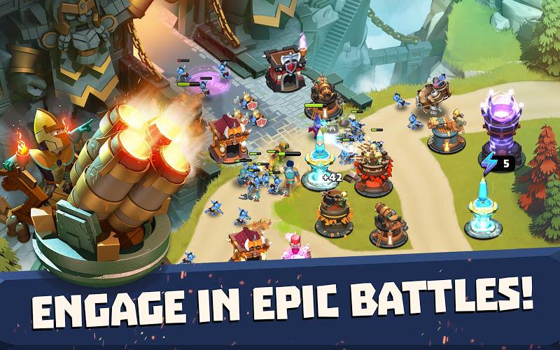 Castle Creeps TD - Epic tower defense Screenshot 12