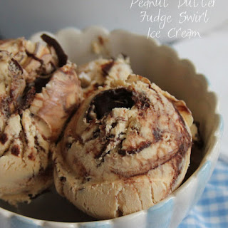 Peanut Butter Fudge Swirl Ice Cream