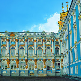 Catherine Palace, St. Petersburg by Zdenka Rosecka - Buildings & Architecture Public & Historical