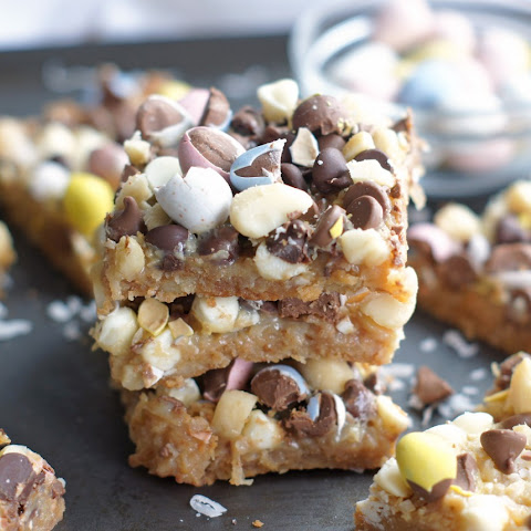 Cadbury Mini Egg Seven Layer Bars