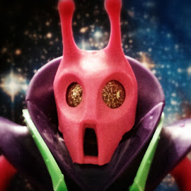 Scorpio by Joseph McKee - Artistic Objects Toys ( toy, mason, scorpio, retro, alien, space, matt,  )