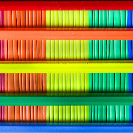 5 color abstract by Dirk Luus - Abstract Patterns ( color, pattern, squares, abstract, five )