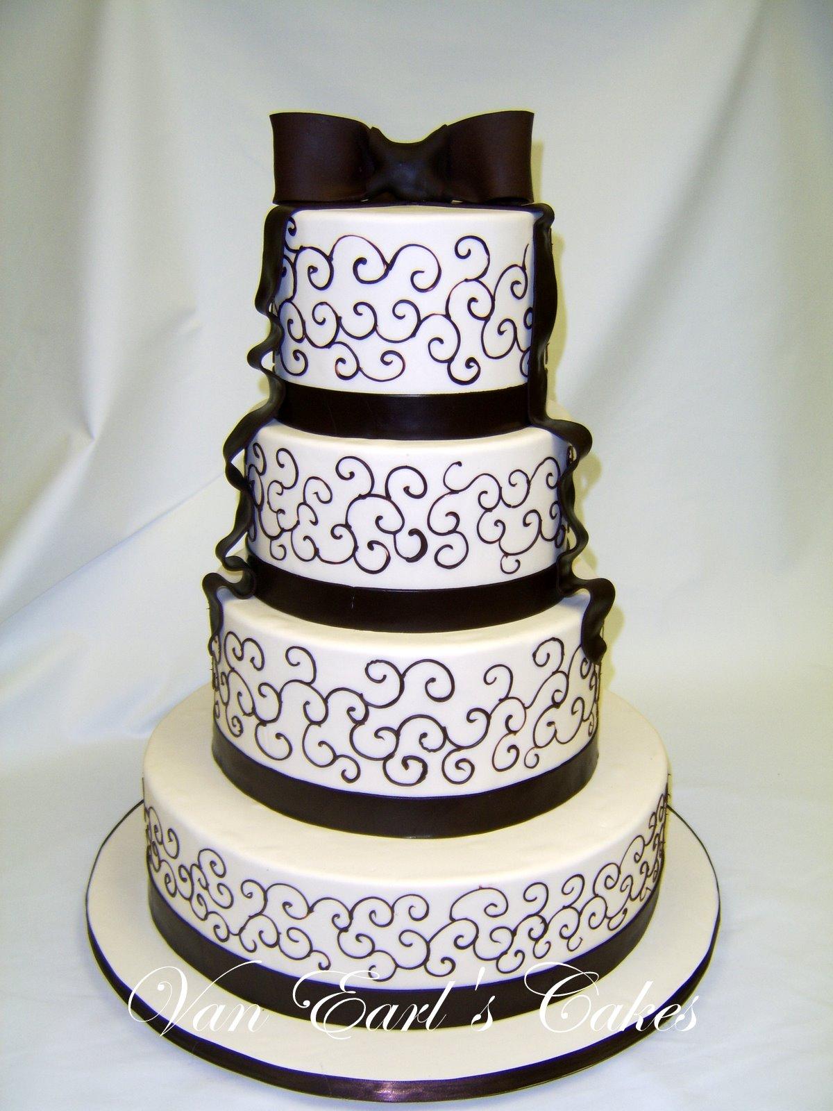 Chocolate and Ivory Wedding