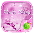 PinkyShiny GO Keyboard Theme APK for Bluestacks