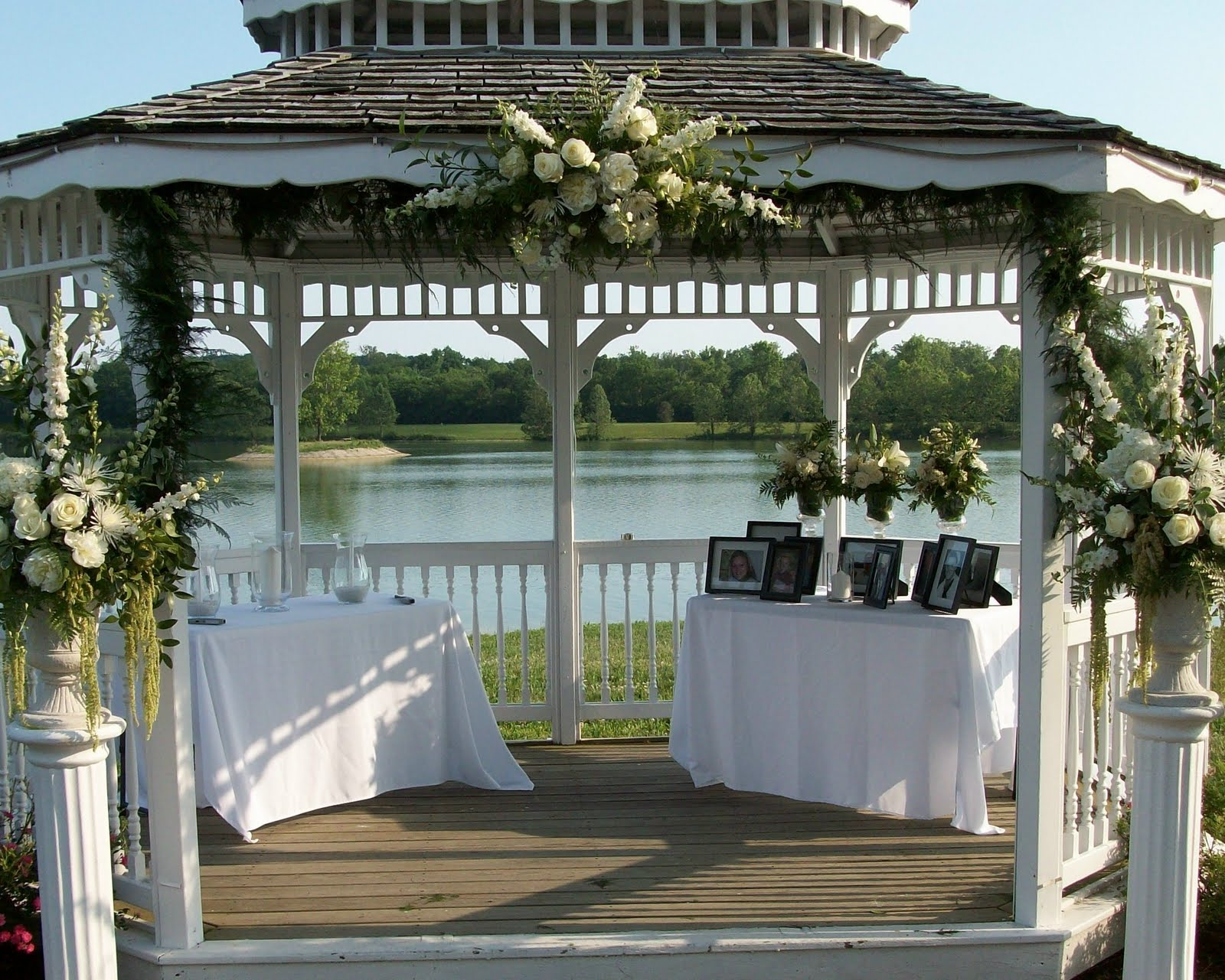 Outside Gazebo Wedding Decoration Ideas High School Mediator